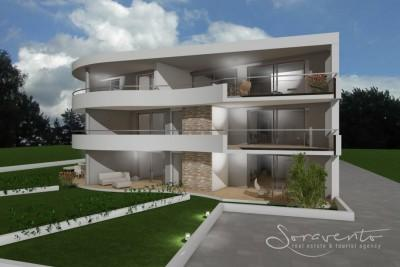 New Top quality flats with sea view, Novigrad - under construction