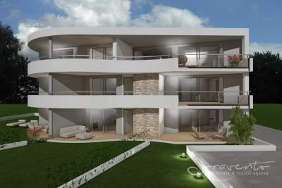 New apartment with garden, Novigrad - under construction